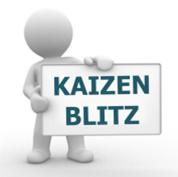 Каждый участник тренинга практически применяет полученные знания: выполняет проект Kaizen Blitz